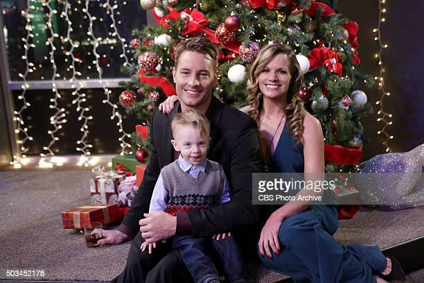 Coverage of the CBS series THE YOUNG AND THE RESTLESS scheduled to air on the CBS Television Network Pictured Justin Hartley Melissa Claire Egan