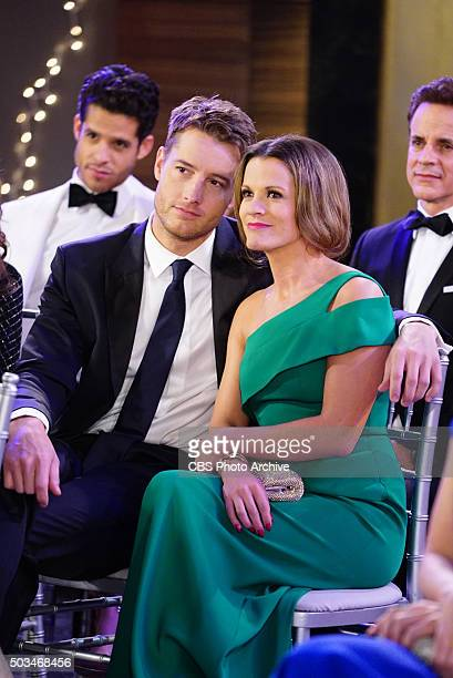 Coverage of the CBS series THE YOUNG AND THE RESTLESS scheduled to air on the CBS Television Network Pictured Justin Hartley and Melissa Claire Egan