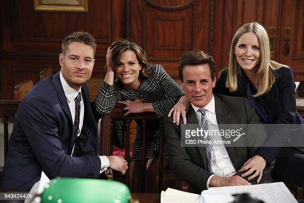 Coverage of the CBS series THE YOUNG AND THE RESTLESS scheduled to air on the CBS Television Network Pictured Justin Hartley Adam Newman Melissa...