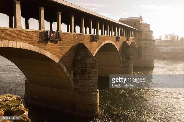 Covered bridge, Pavia