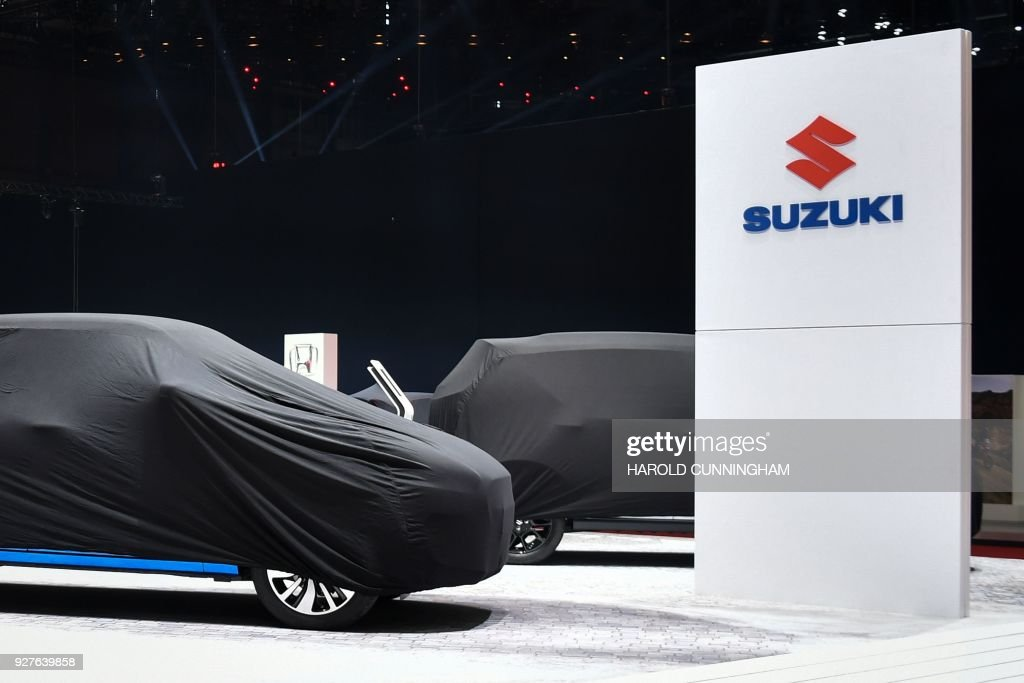 SWITZERLAND-AUTO-SHOW : News Photo