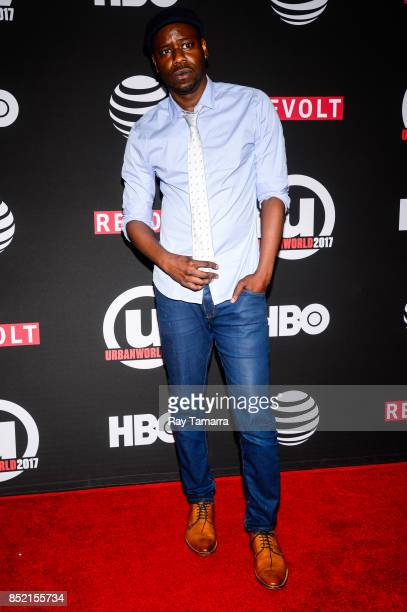 'Covered' producer and actor Malcolm Barrett attends the 21st Annual Urbanworld Film Festival at AMC Empire 25 theater on September 22 2017 in New...