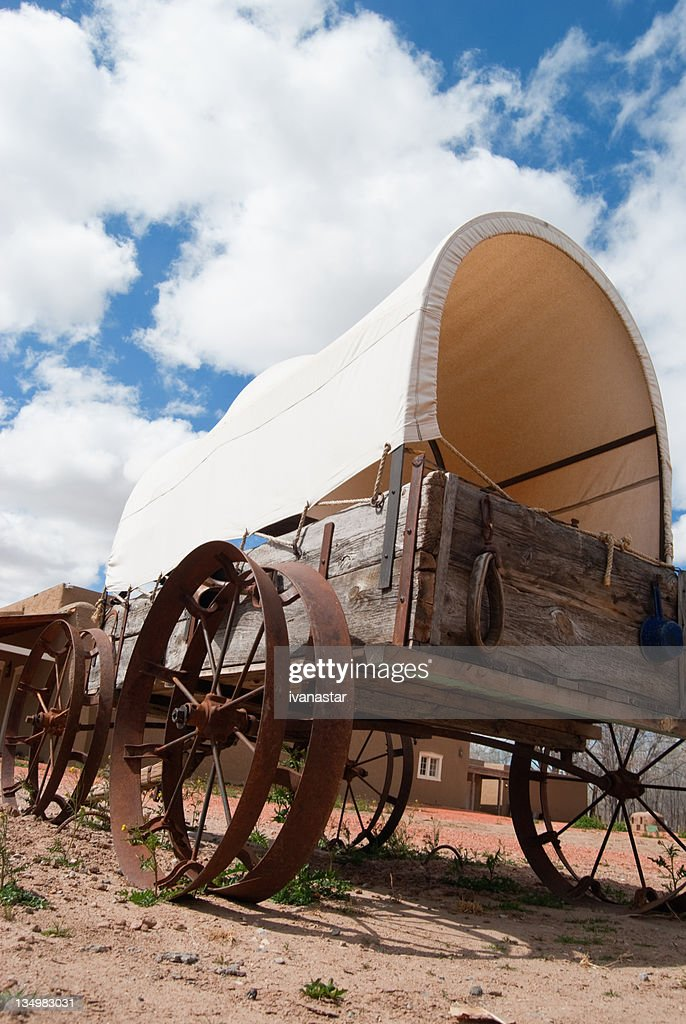 Covered Wagon : Stock Photo