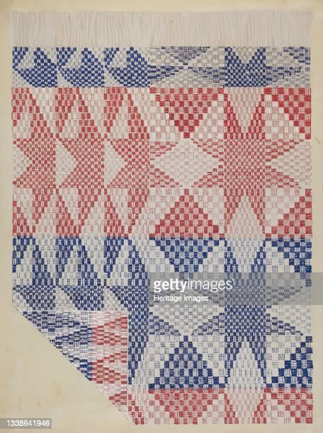 Coverlet, circa 1936. Artist Katherine Hastings.