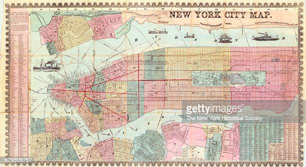 Covers Manhattan below 132nd Street Brooklyn north of Union Street and west of Fifth or Union Avenues and part of western Queens all in New York NY...