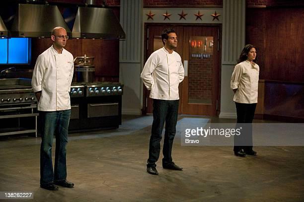 TOP CHEF Covert Cuisine Episode 710 Pictured Alex Reznik Angelo Sosa Amanda Baumgarten