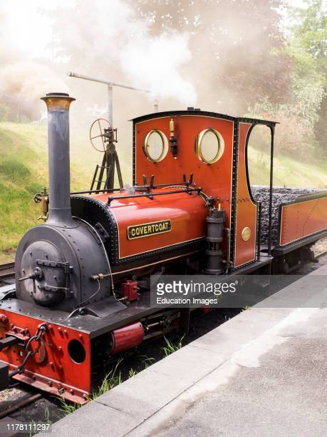 Covertcoat is a 040ST ïQuarry HunsletÍ built in 1898 by the Hunslet Engine Company of Leeds Lauceston Steam Railway Cornwall UK