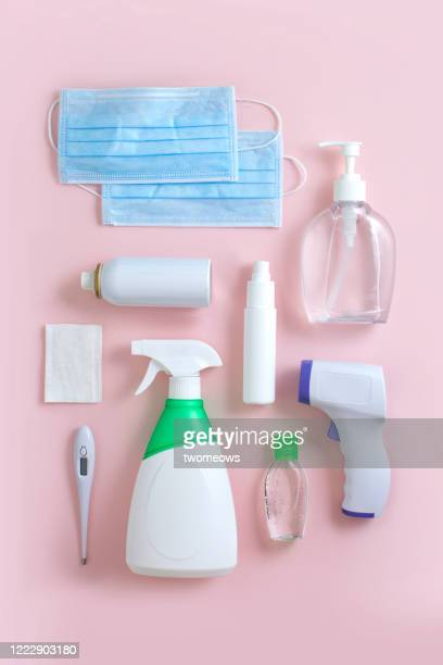 covid 19 still life image. - medical supplies stock pictures, royalty-free photos & images