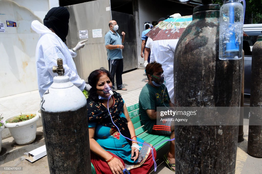 COVID-19 patients in India : News Photo