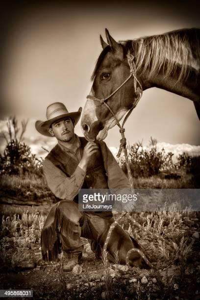 Cowboy-amerikanischen Ikone