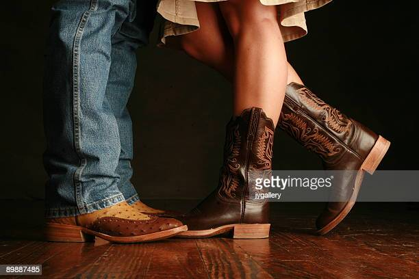 Cowboy and cowgirl together