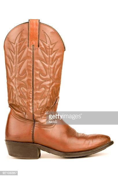 cowboy boot - cowboy boot stock pictures, royalty-free photos & images