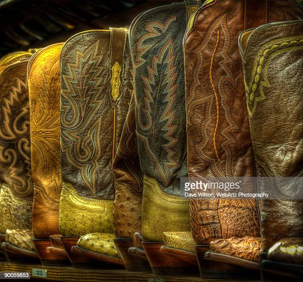 cowboy boots - dave wilson webartz stock pictures, royalty-free photos & images
