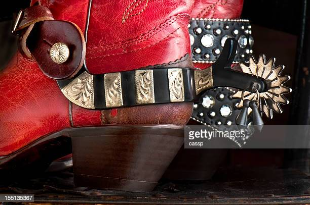 cowboy boots with rhinestone belt - rhinestone stock pictures, royalty-free photos & images