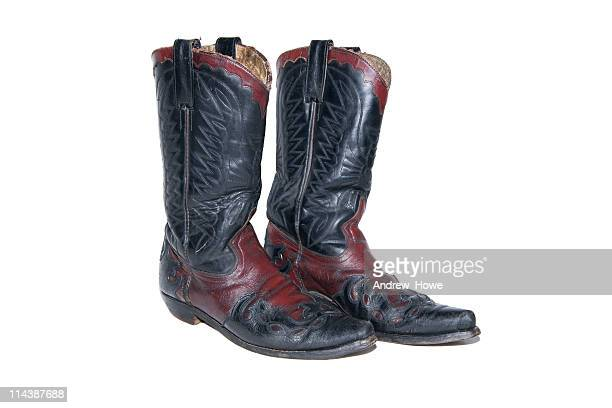 cowboy boots xxl - riding boot stock pictures, royalty-free photos & images