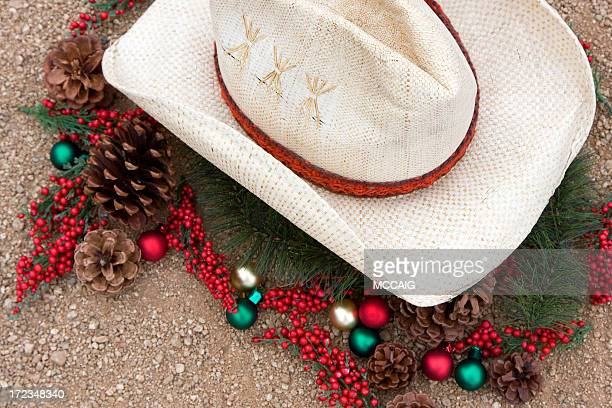 cowboy christmas - cowboy christmas stock pictures, royalty-free photos & images
