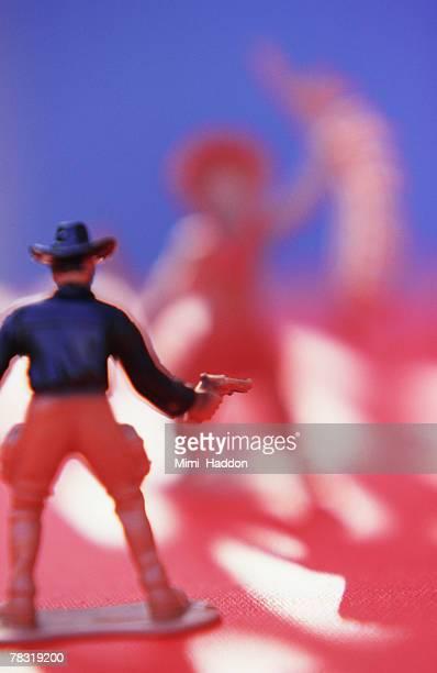 Cowboy figurine
