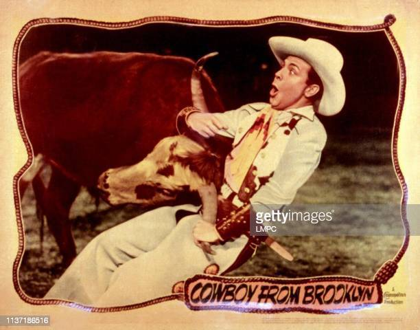 Cowboy From Brooklyn, lobbycard, Dick Powell, 1938.