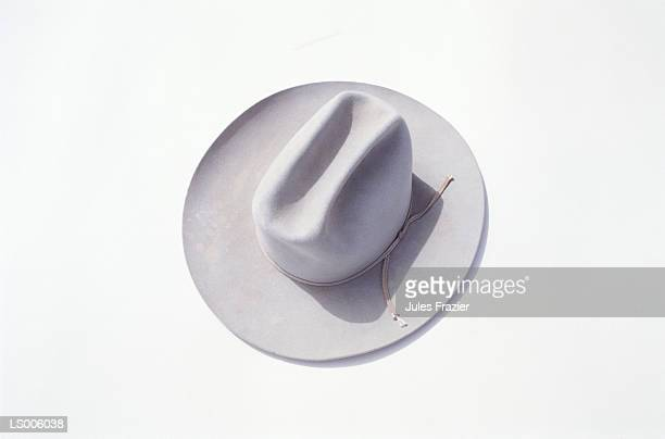 cowboy hat - white hat fashion item stock photos and pictures