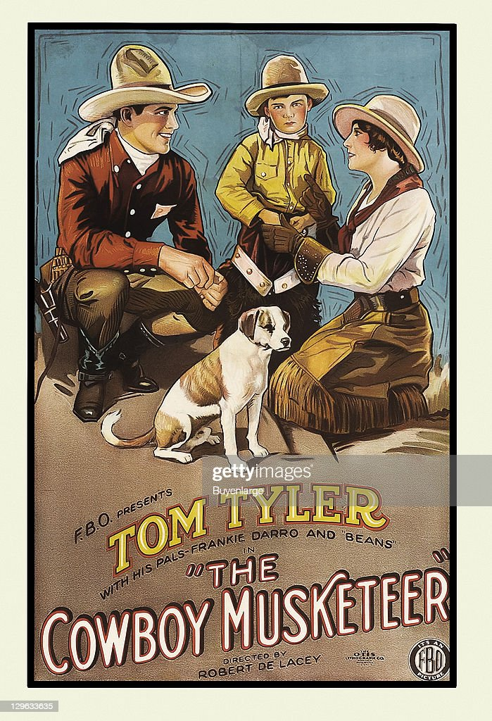 Movie Poster For The Cowboy Musketeer Pictures Getty Images