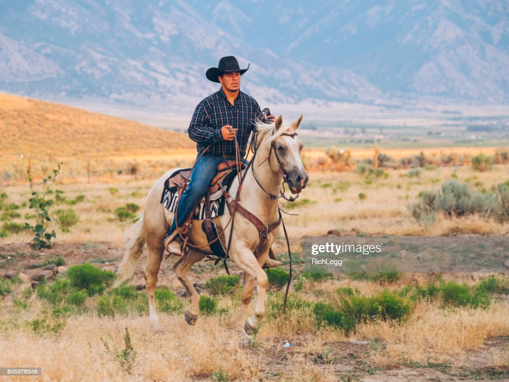 Cowboy Lifestyle in Utah : Stock Photo