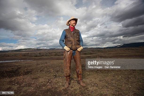 cowboy - jackson hole stock pictures, royalty-free photos & images