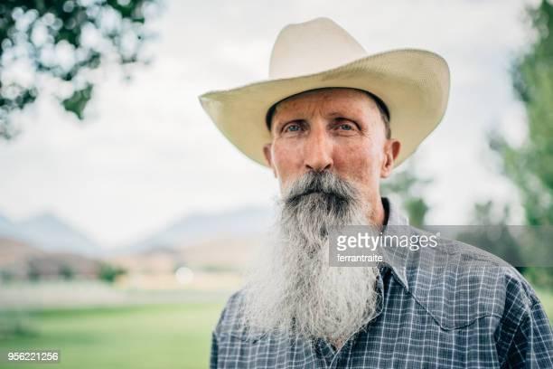 cowboy retrato de - vaqueros fotografías e imágenes de stock