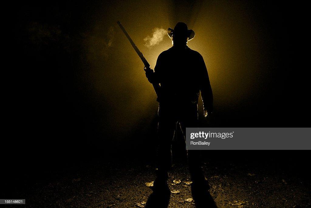 Cowboy Rifleman : Stock Photo