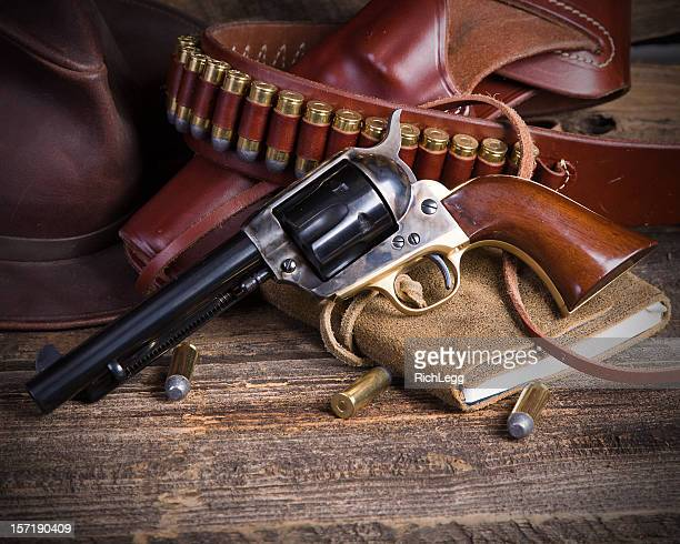 Cowboy Six Shooter Revolver