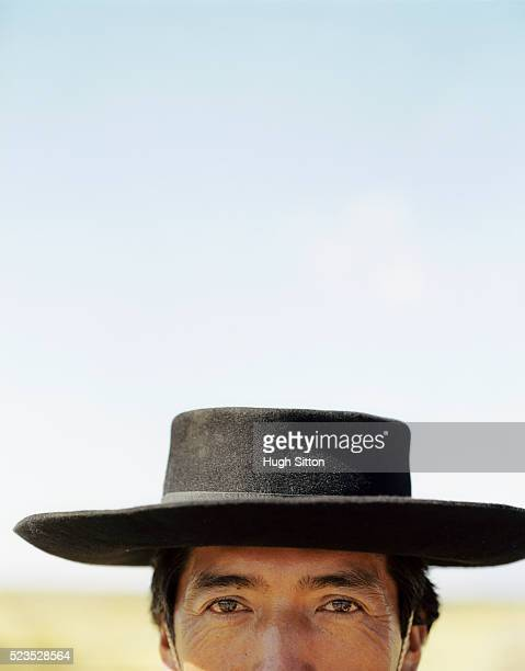 cowboy smiling into camera, cafayete, salta, argentina - hugh sitton stock pictures, royalty-free photos & images