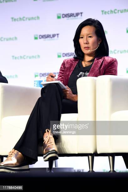 Cowboy Ventures Founder and Managing Partner Aileen Lee speaks onstage during TechCrunch Disrupt San Francisco 2019 at Moscone Convention Center on...