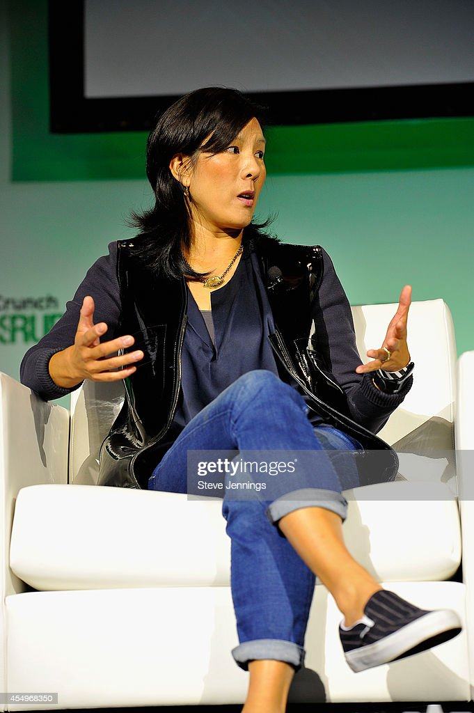 Cowboy Ventures Founder and Partner Aileen Lee speaks onstage at TechCrunch Disrupt at Pier 48 on September 8, 2014 in San Francisco, California.