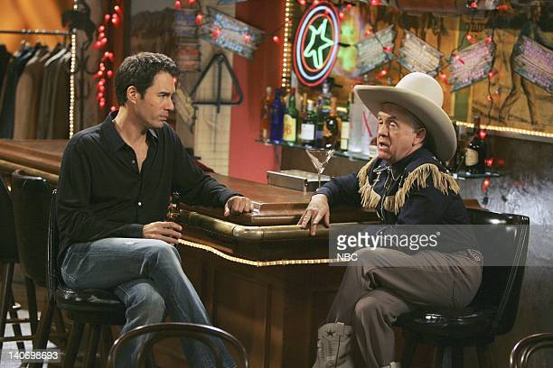 WILL GRACE Cowboys and Iranians Episode 17 Pictured Eric McCormack as Will Truman Leslie Jordan as Beverley Leslie Photo by Chris Haston/NBCU Photo...