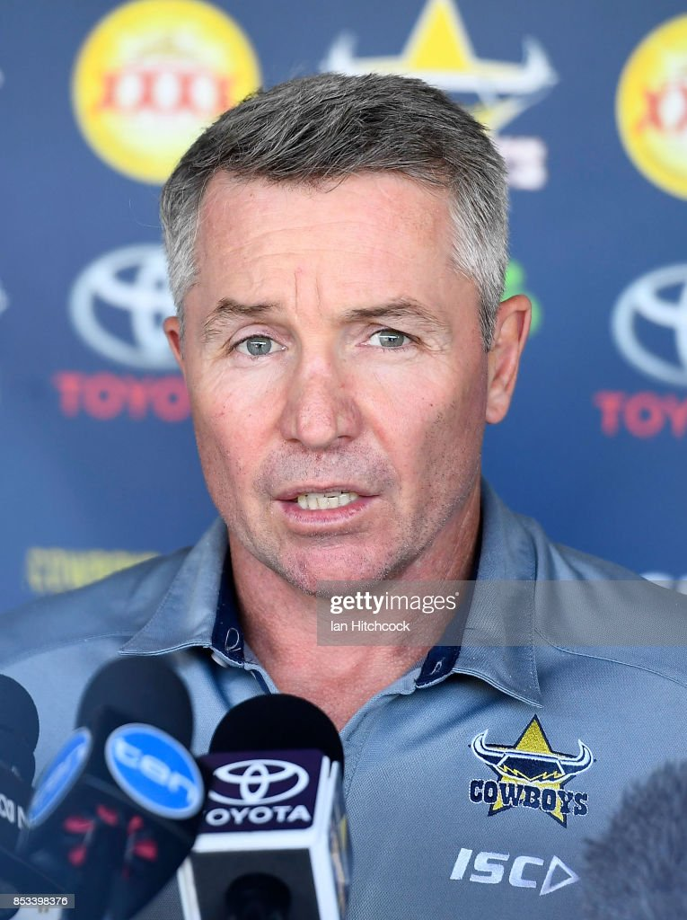 North Queensland Cowboys Media Session