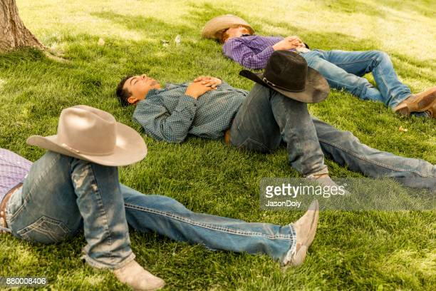 Cowboys Relaxing