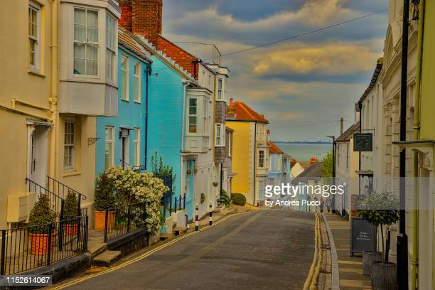 cowes, isle of wight, united kingdom - isle of wight stock pictures, royalty-free photos & images