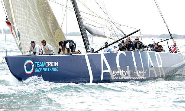 Cowes Week Cowes IoW 1851 Cup for America's Cup yachts Team Origin GBR