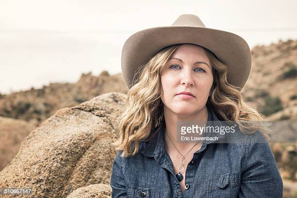 Cowgirl Hairstyles Stock Photos And Pictures