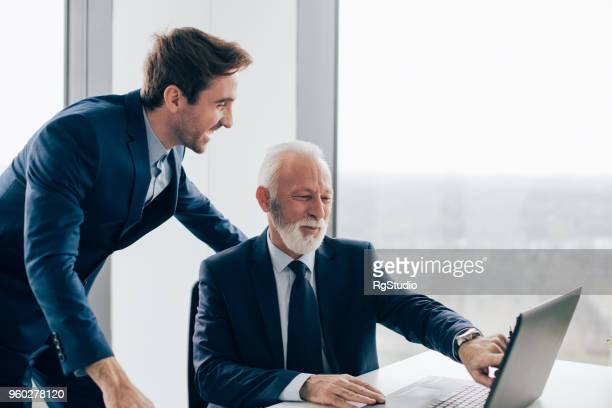 Coworkers in office