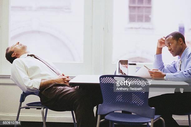 Coworkers Taking Lunch Break