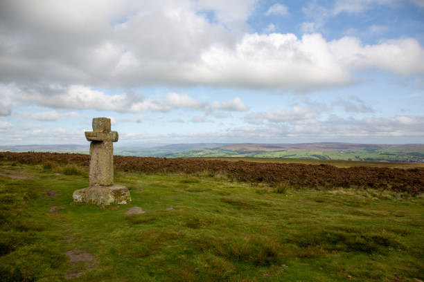 Cowper's Cross on Ilkley Moor
