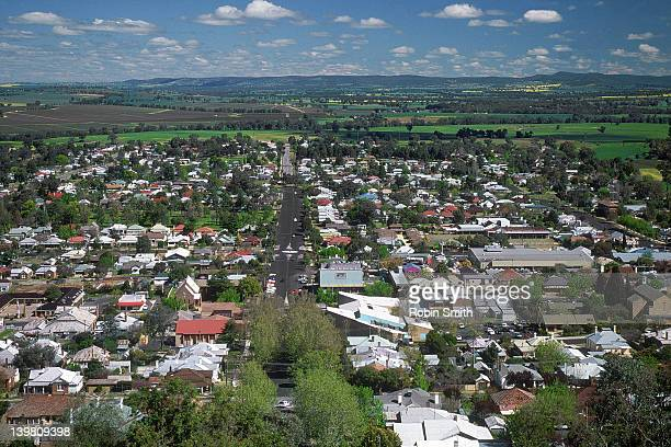 Cowra township, Lachlan River Valley, NSW
