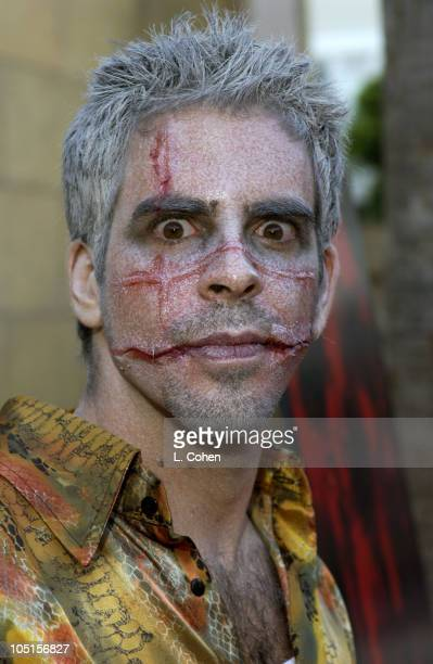 Cowriter and Director Eli Roth during Cabin Fever Premiere Red Carpet in Hollywood California United States