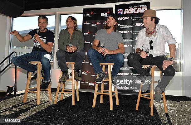 Cowriter Brett Warren Keith Urban cowriters Brad Warren and Kevin Rudolf are honored as BMI ASCAP Celebrate the No1 Song 'Little Bit Of Everything'...