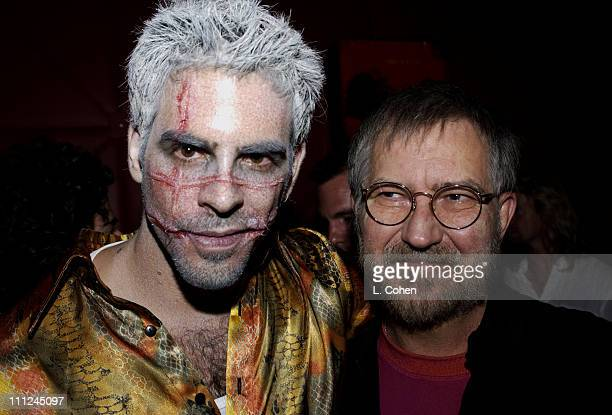 Cowriter / Director Eli Roth and Director Tobe Hooper