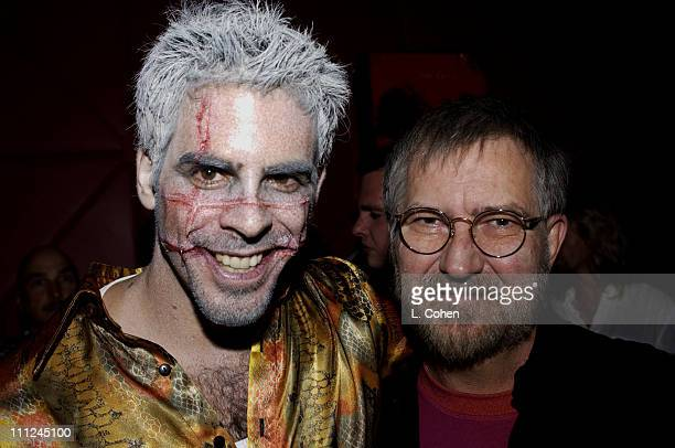 Cowriter / Director Eli Roth and Director Tobe Hooper