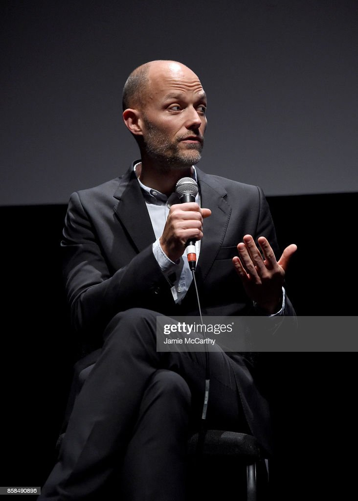 Co-writer Eskil Vogt attends the 55th New York Film Festival - 'Thelma' at Alice Tully Hall on October 6, 2017 in New York City.