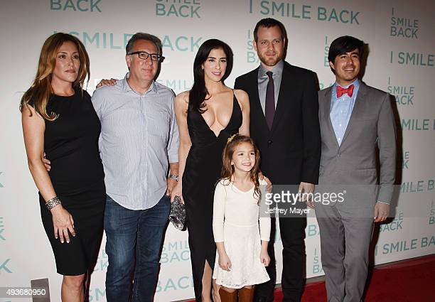 Co-writer Paige Dylan, producer Richard Arlook, actresses Sarah Silverman, Mia Barron, director Adam Salky and Broad Green co-founder Daniel Hammond...