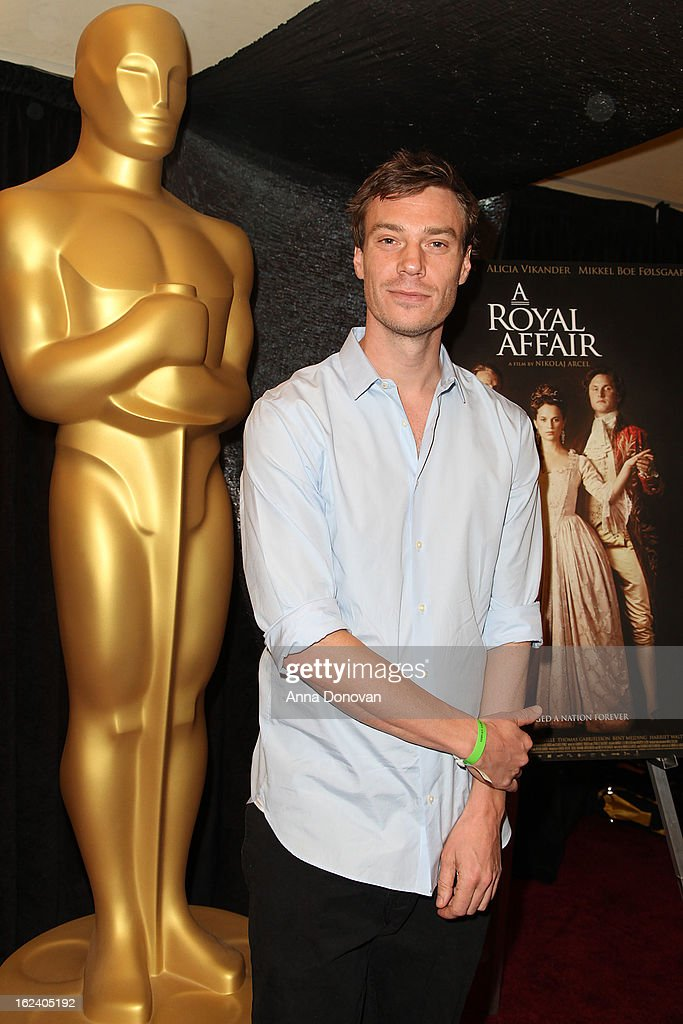 Co-writer Rasmus Heisterberg of the film 'A Royal Affair' attends the 85th annual Academy Awards Foreign Language Film Award photo-op held at the Dolby Theatre on February 22, 2013 in Hollywood, California.