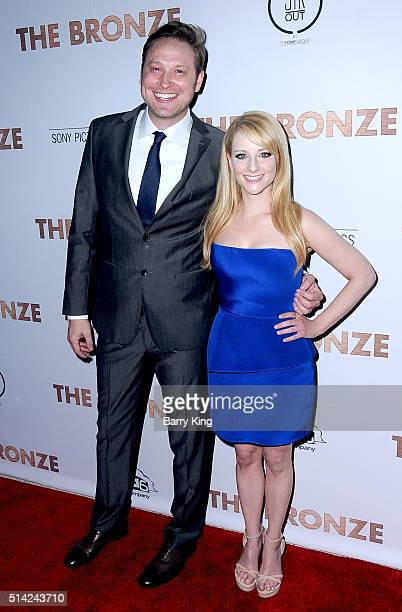 CoWriter Winston Rach and actress/cowriter Melissa Rauch attend the Premiere of Sony Pictures Classics' 'The Bronze' at SilverScreen Theater at the...